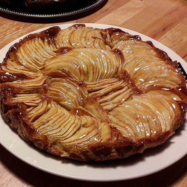 G teau aux pommes fa on tarte toute la cuisine que j 39 aime - Cuisiner avec se que j ai dans mon frigo ...